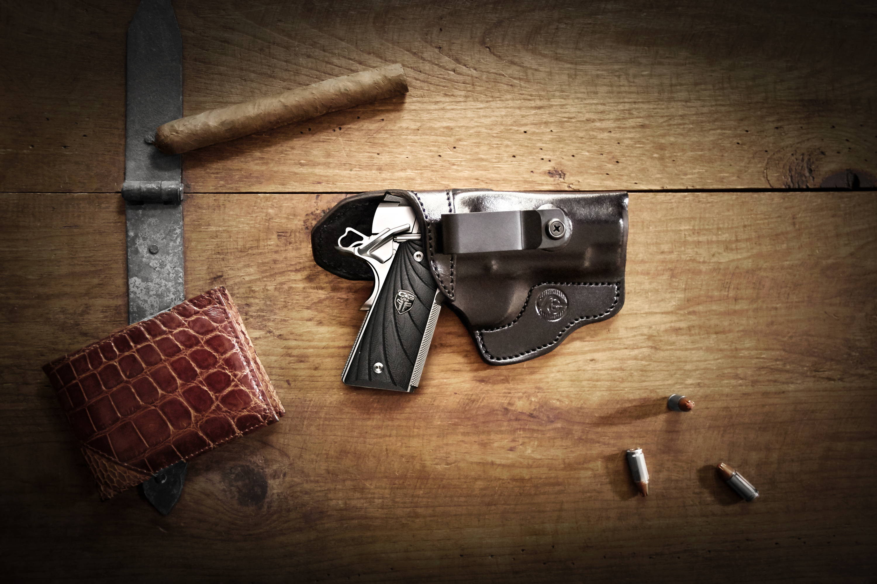 Appendix carry leather holster