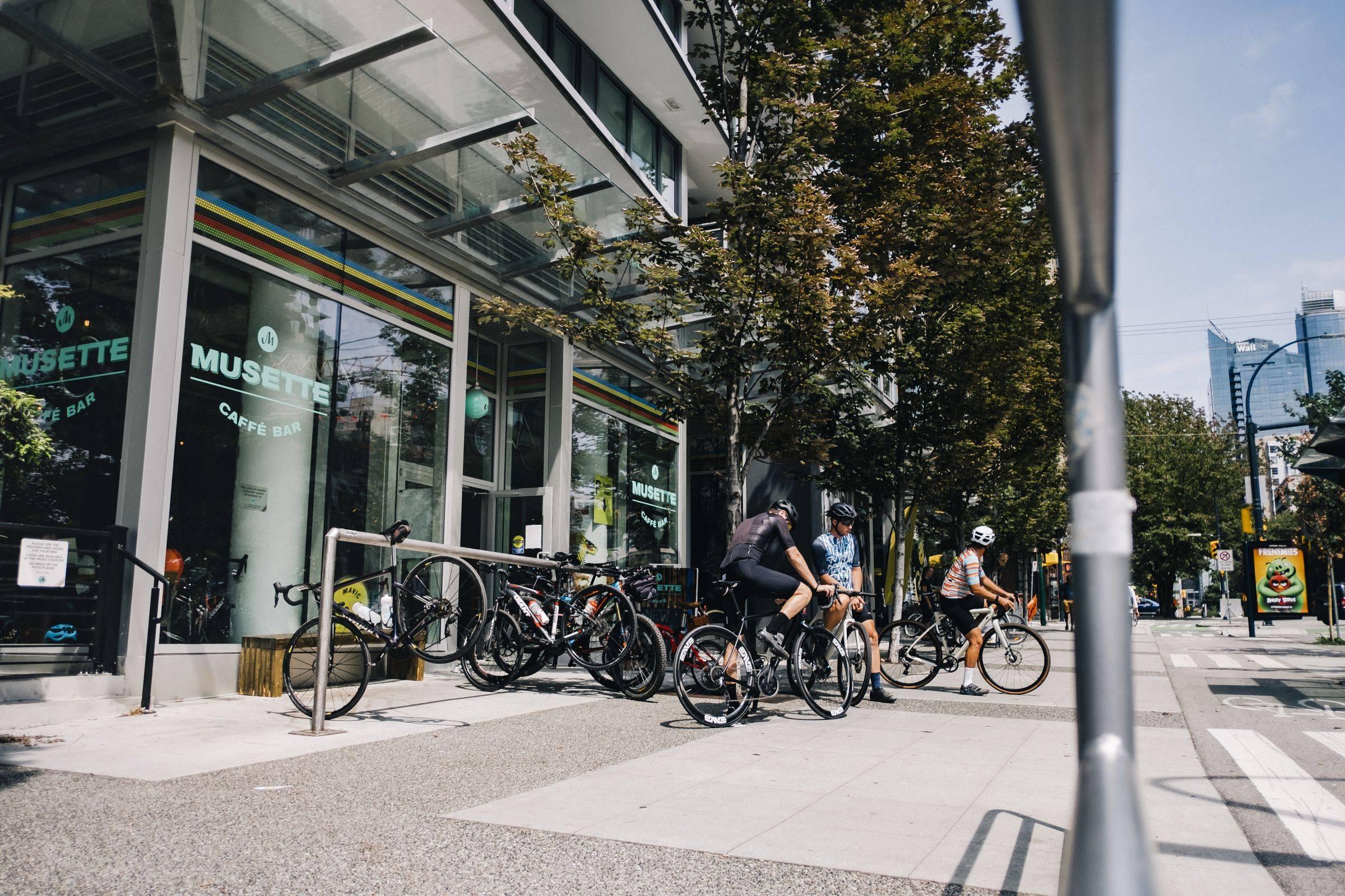 Eliel - Musette Caffe - Bicicletta Vancouver
