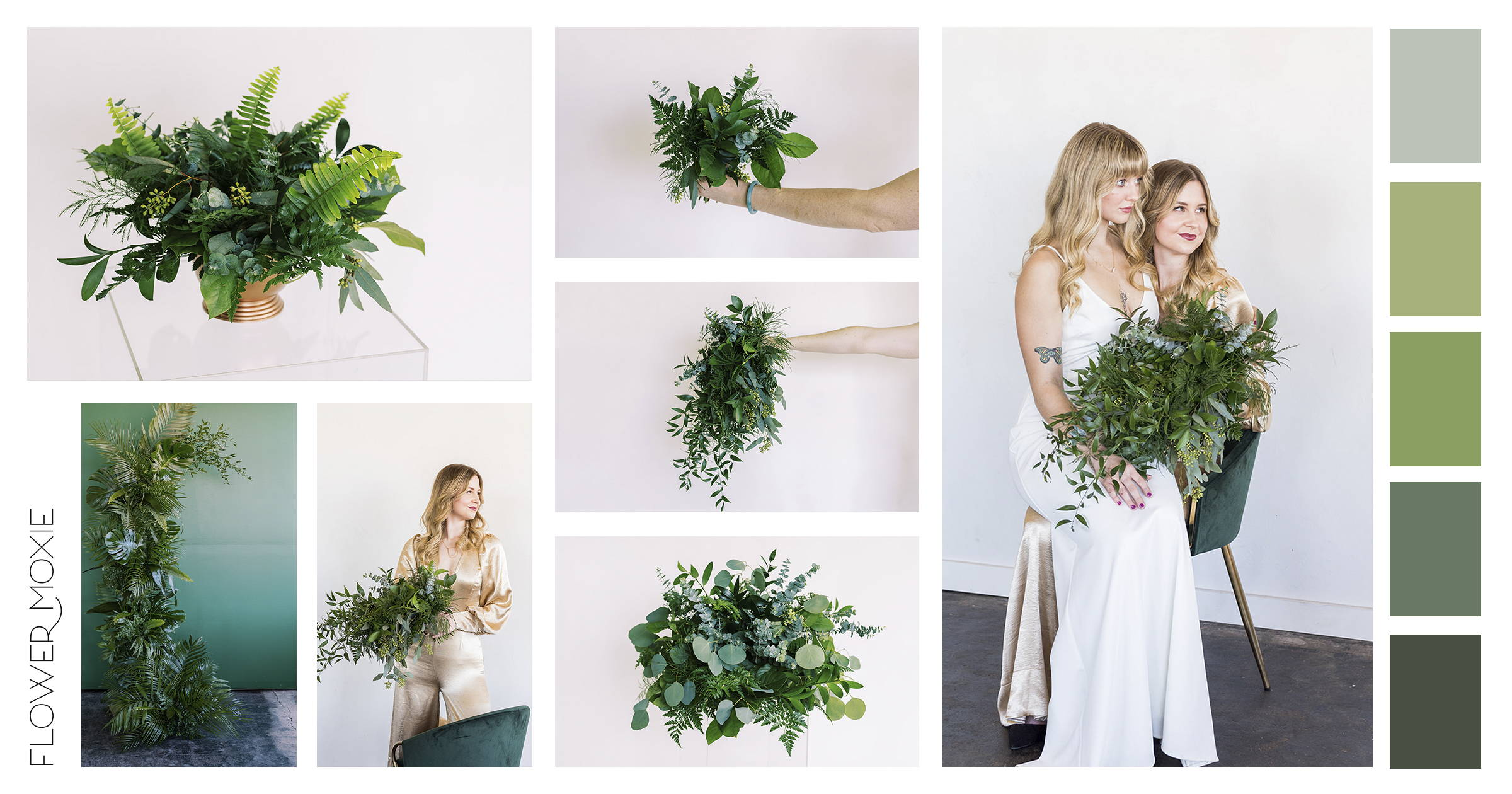 all green wedding packages