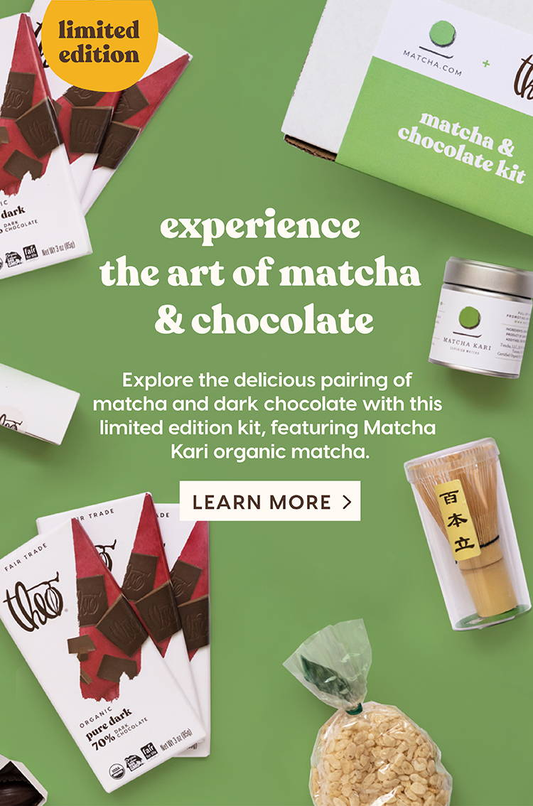 Experience the Art of Matcha & Chocolate