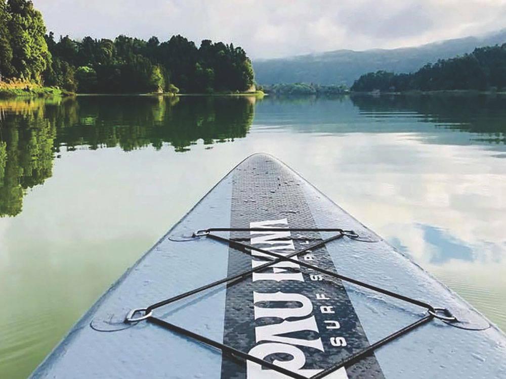 Pau Hana Cadence Air floating on water