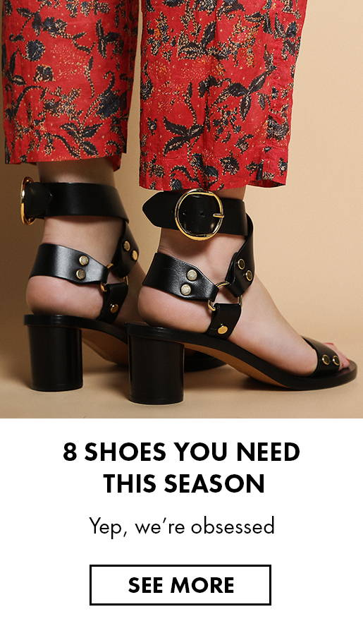 8 shoes you need this season