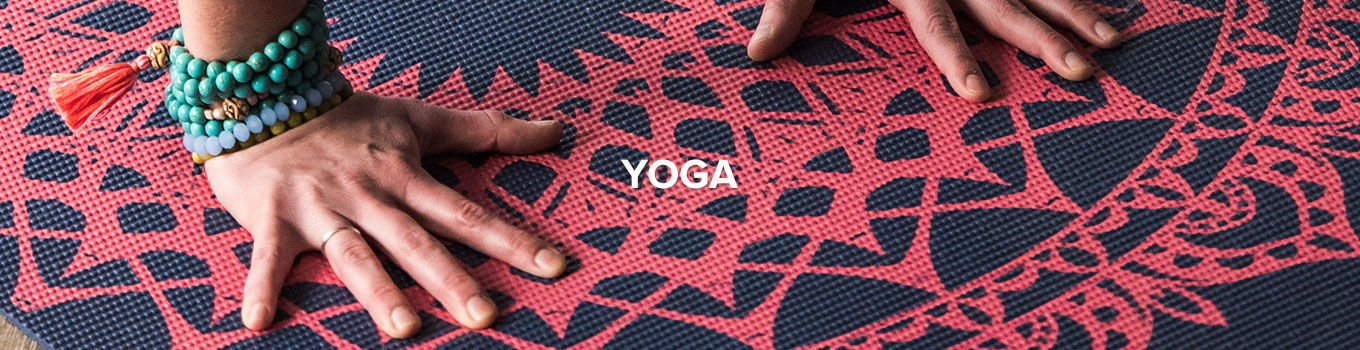 Yoga mats, props and accessories from Gaiam