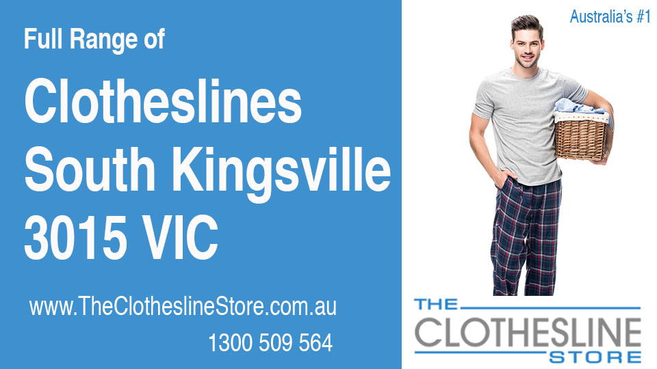 New Clotheslines in South Kingsville Victoria 3015