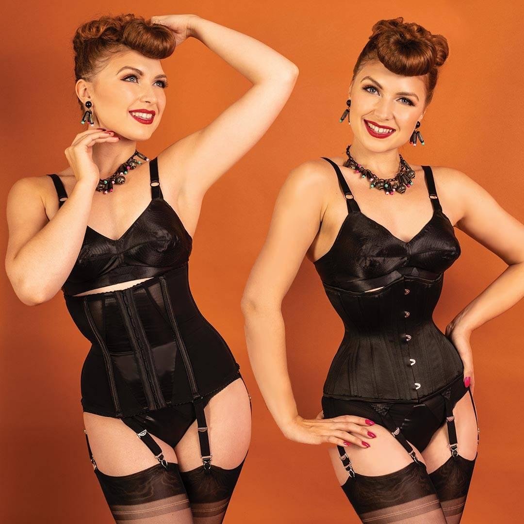 waist cincher and corset comparison