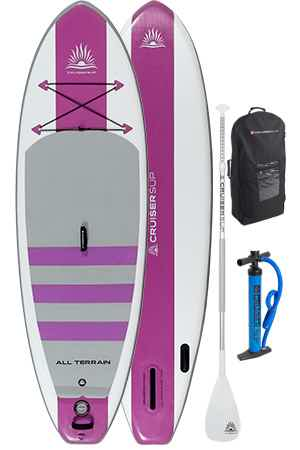 Cruiser SUP Escape Air inflatable stand up paddle board