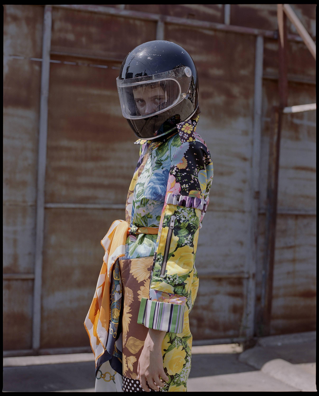 Richard Quinn FW18 Patchwork Floral Jumpsuit - Hlorenzo
