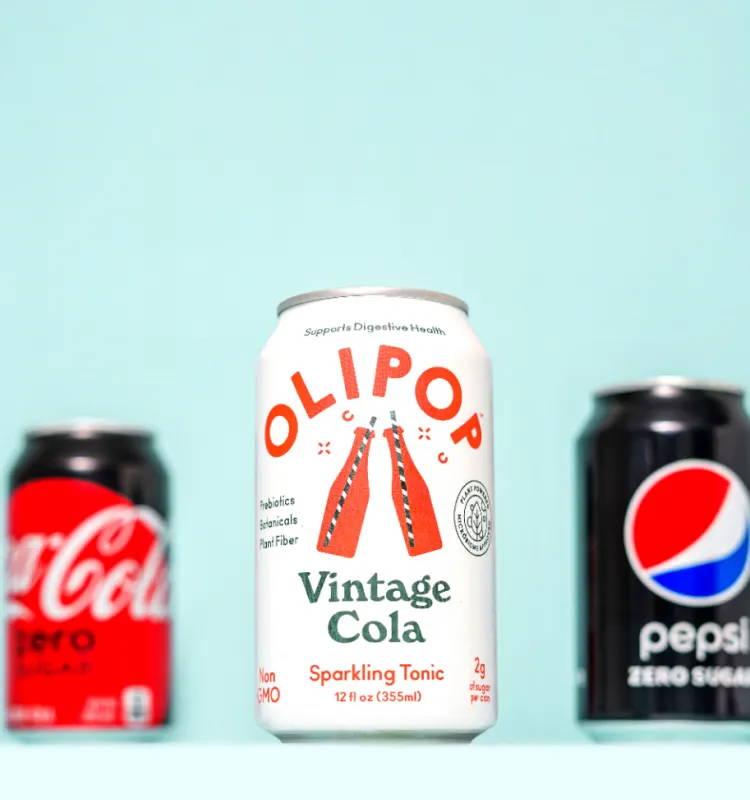 OLIPOP Vintage Cola Can