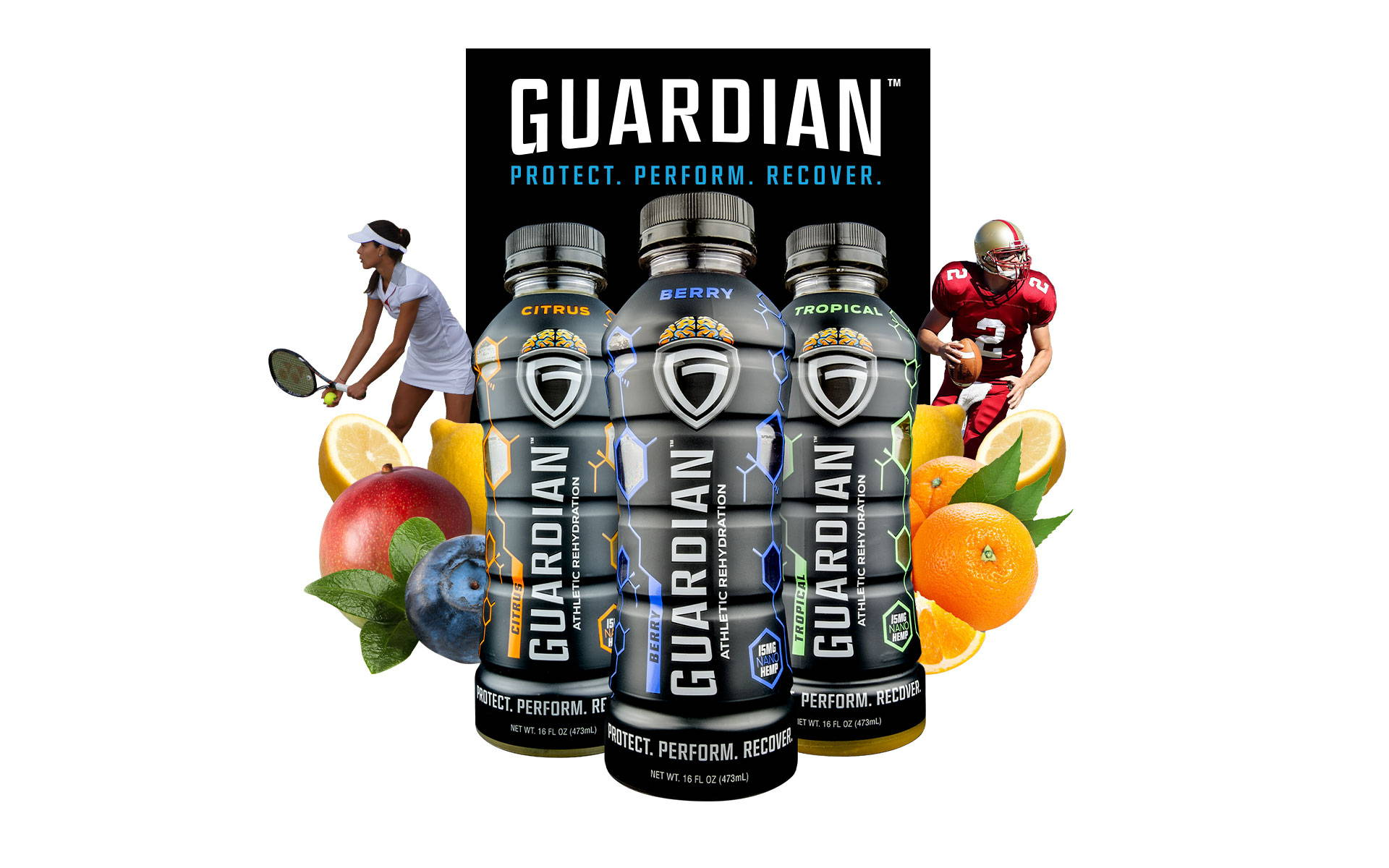 Guardian Athletic Rehydration Natural Sports Drink