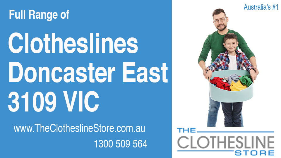 New Clotheslines in Doncaster East Victoria 3109