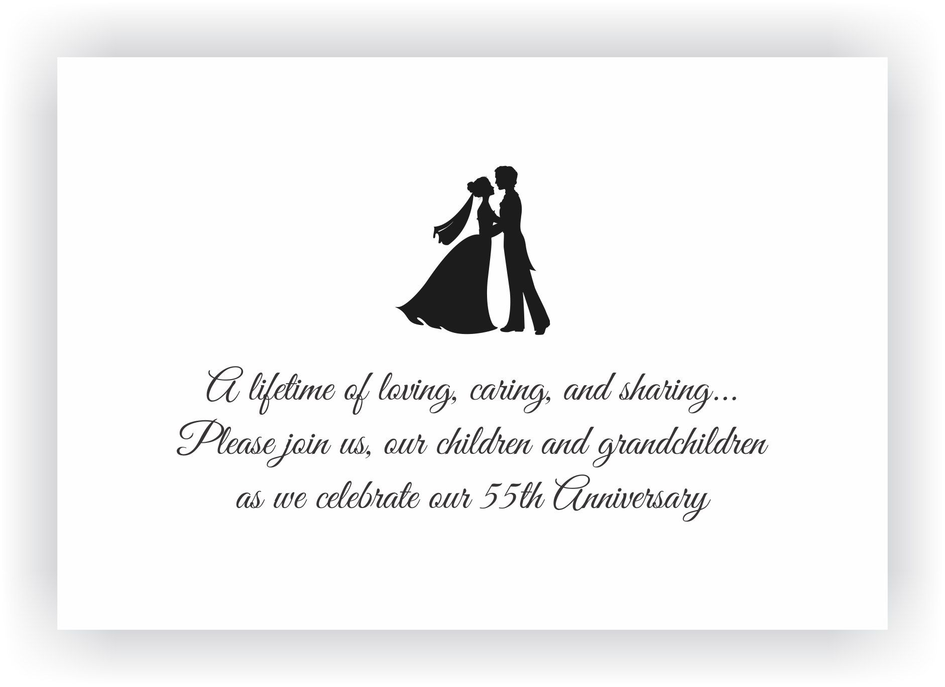 Marriage Anniversary Invitation Messages Invitation Of Wedding