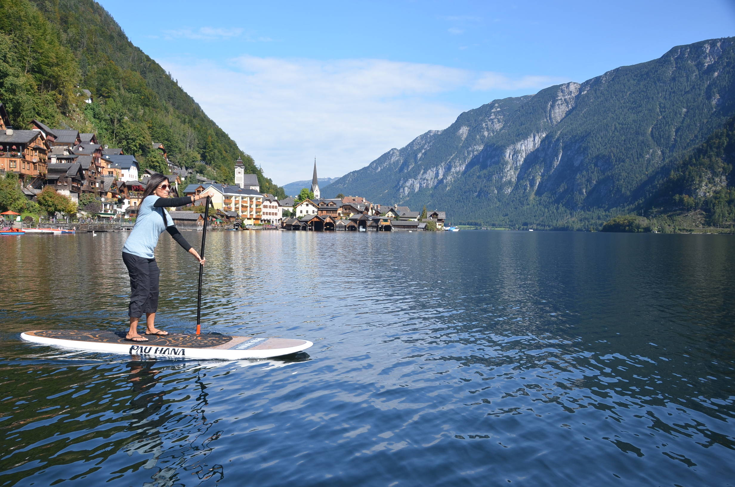 This is the best beginner paddle board. Oahu SUP in germany
