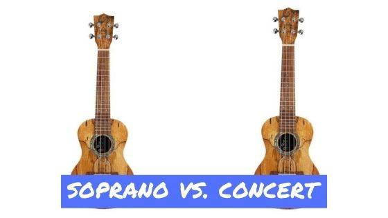 Image result for soprano vs concert ukulele