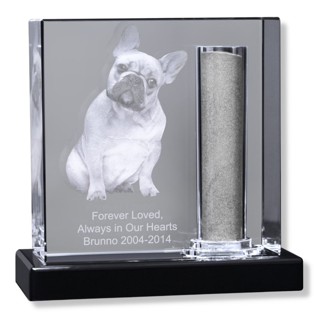 rainbow bridge pet dog memorial urn