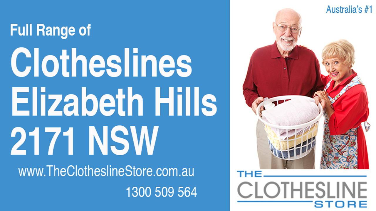 Clotheslines Elizabeth Hills 2171 NSW