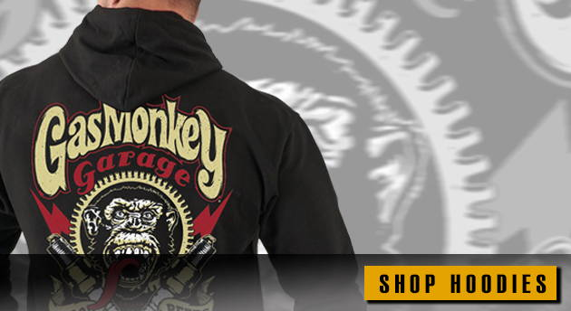 Gas Monkey Garage Hoodies