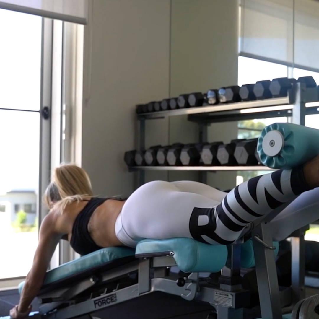 PT Studio Gym Fit Out Force USA Leg Extention/Leg Curl Machine