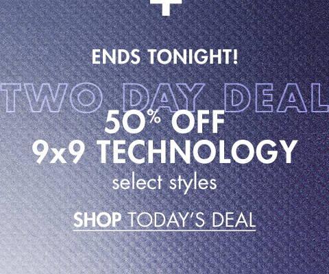 50% Off 9x9 Technology