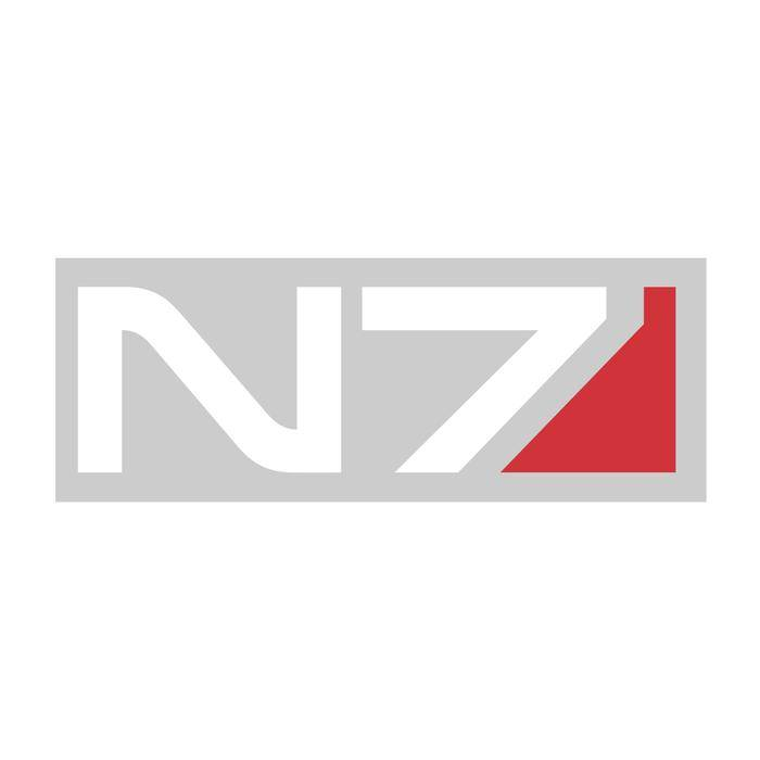 Product image of the Mass Effect N7 Vinyl Decal