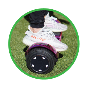 Stability and Safety Feature - SUNL Flat Hoverboard