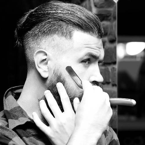 Shaving with a Straight Razor