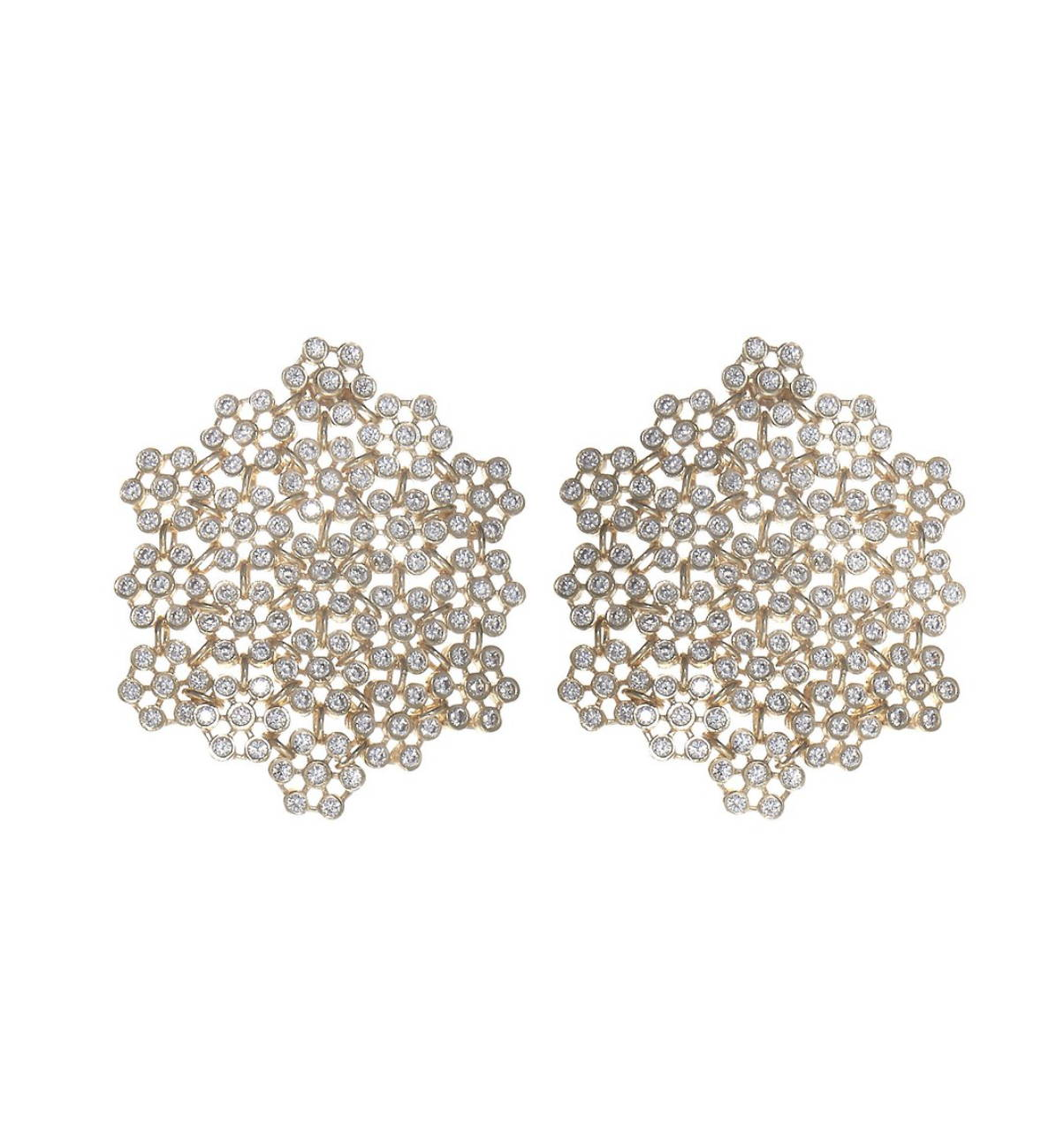 soru jewellery marianna earrings , soru crystal earrings