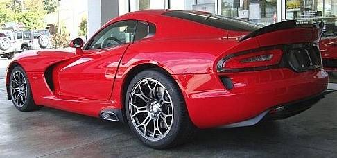 2014 Dodge Viper adding a noise barrier and extra insulation