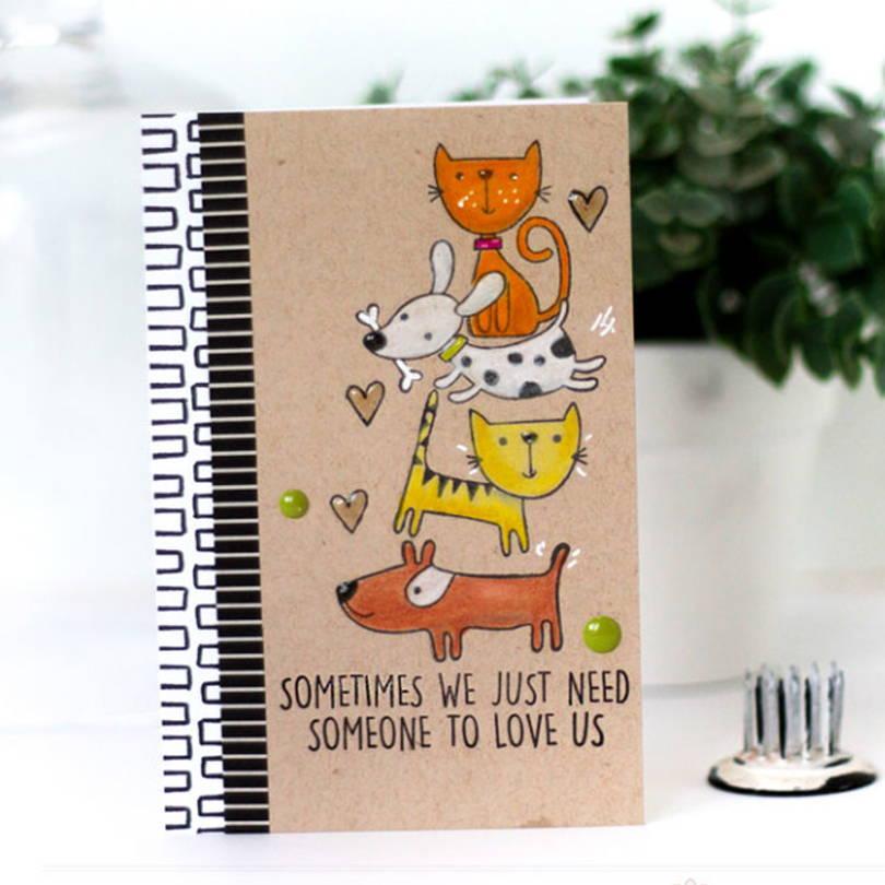 UWF Good Friends card by Julia Stainton