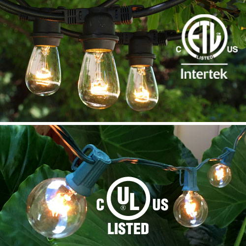 ETL & UL Listed String Lights