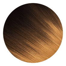 AVERA #1B/4/27 Brown Ombre Clip-In Hair Extension