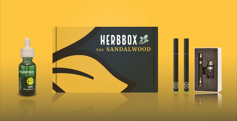 The Sandalwood - Complete CBD Vape Kit