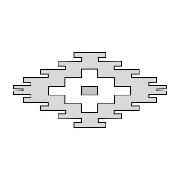 Stair diamond design