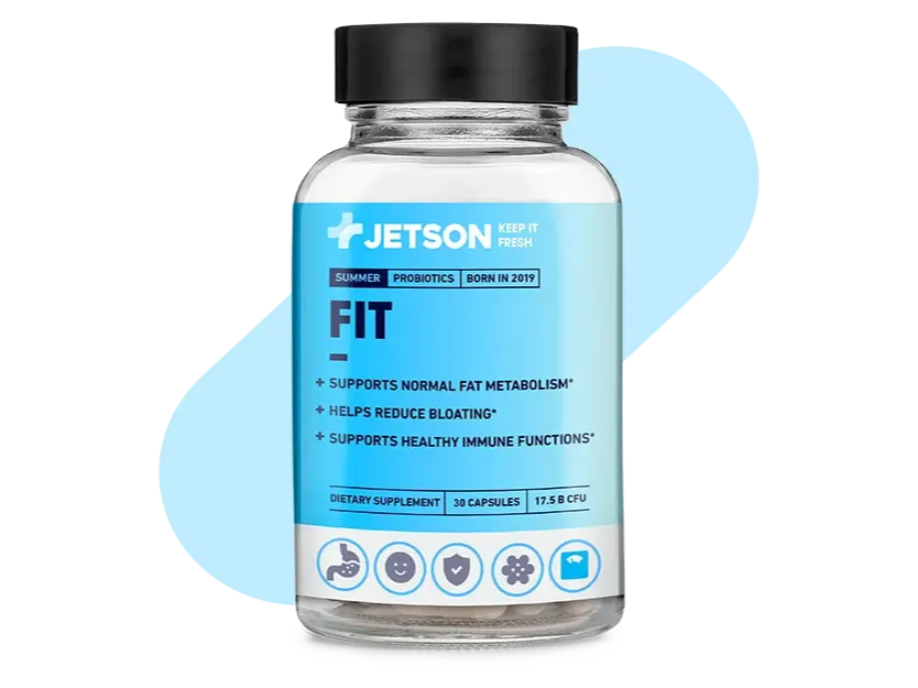 Jetson Fit Probiotic for Summer Season