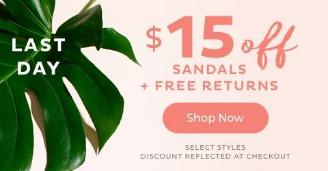 Sandals Try On Event