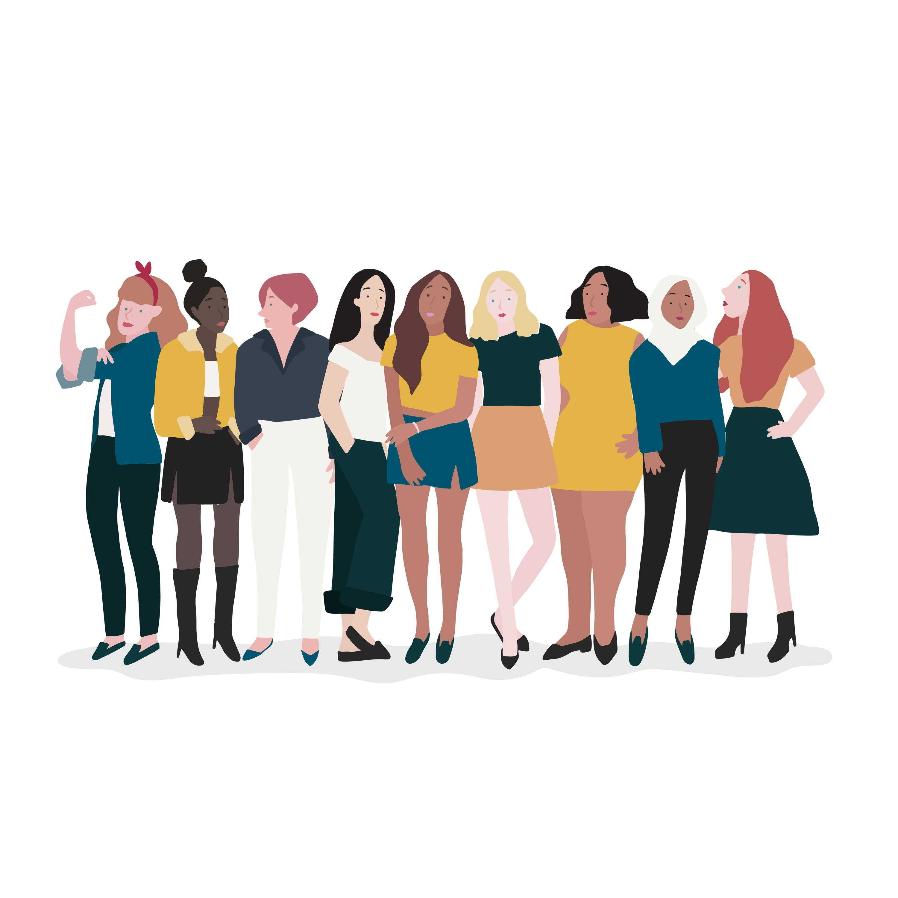 Women Of Different Body Shapes