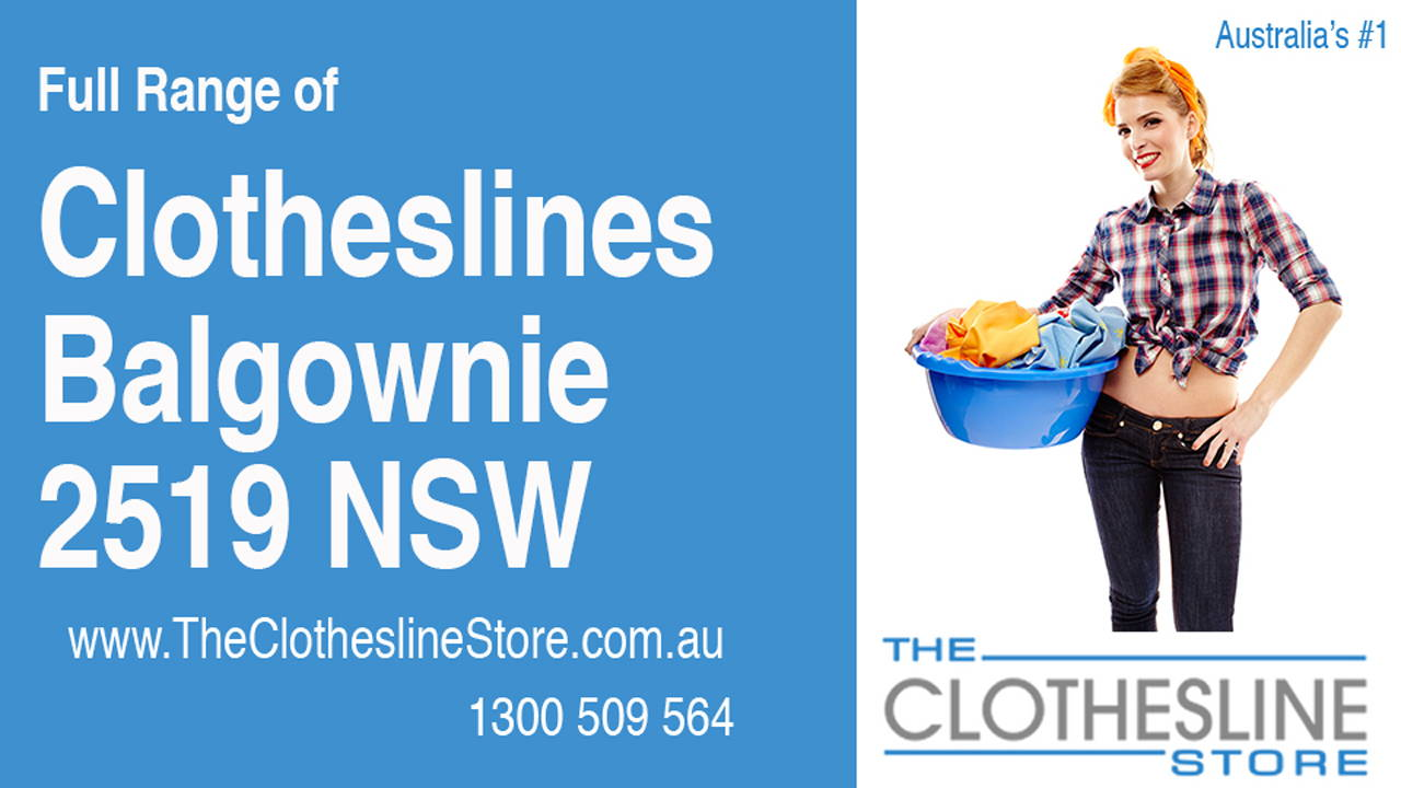 New Clotheslines in Balgownie 2519 NSW