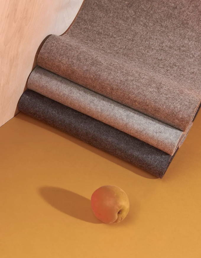 our merino wool felt