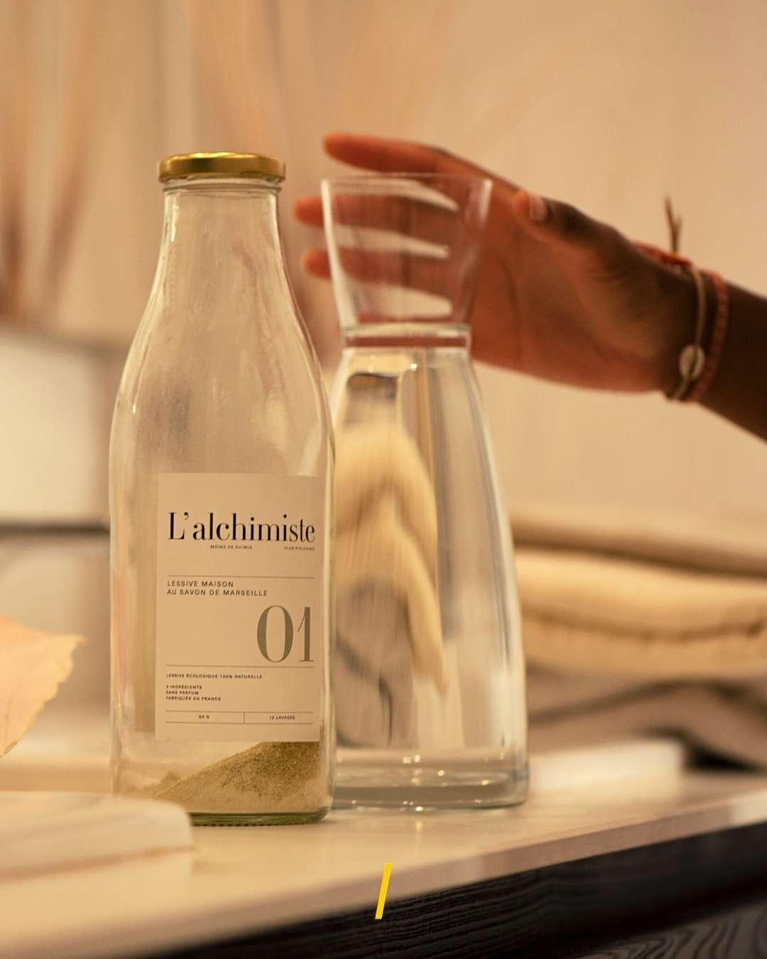 La lessive liquide naturelle - L'alchimiste