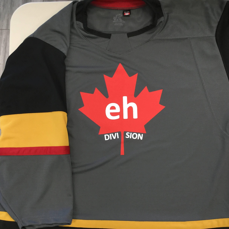 Custom Screen Printed Hockey Jerseys (Kobe  K3G81A Vegas Golden Knights Grey)