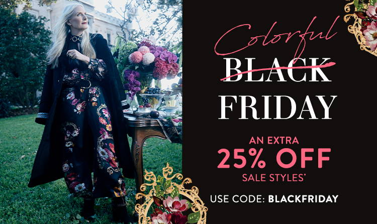 Colorful Black Friday | 25% Off SALE* Use Code: BLACKFRIDAY