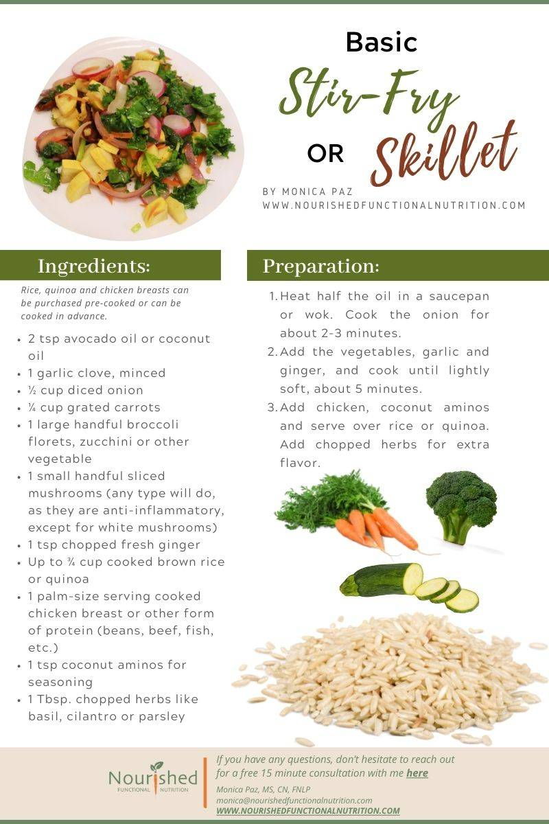 stir-fry skillet recipe