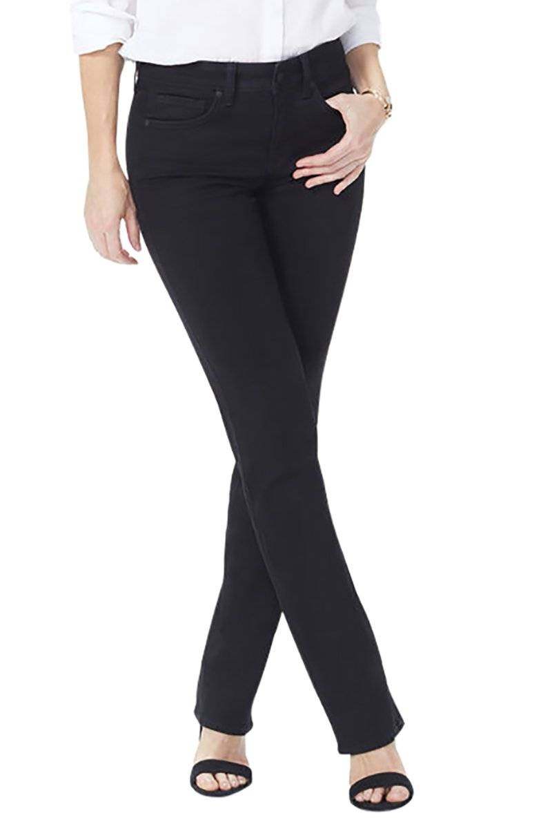 Marilyn Straight Jeans - Black
