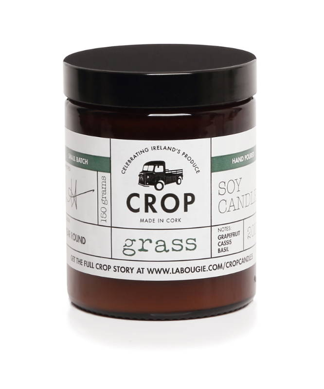 Grass Crop Candle