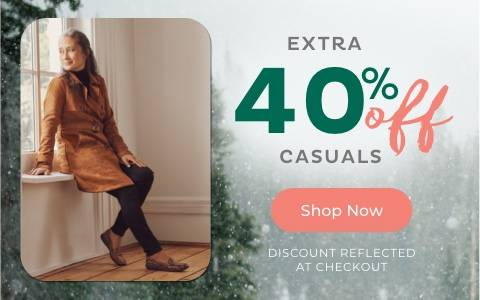 Extra 40% Off Casual