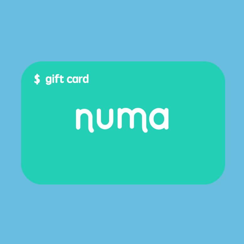 numa gift card