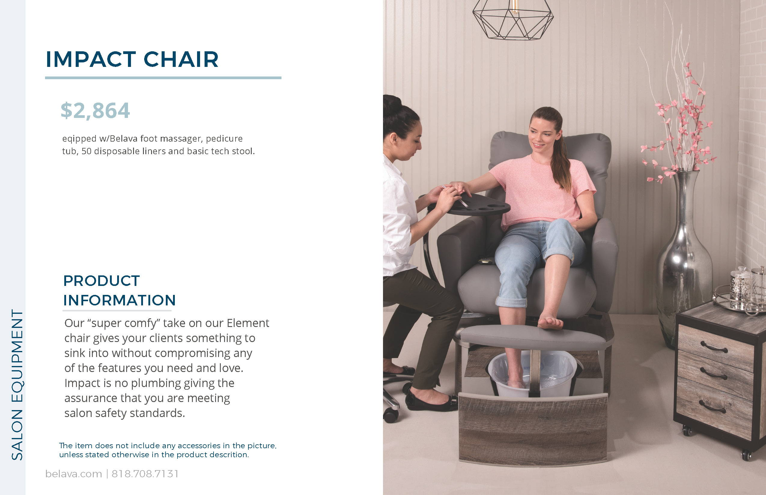 Impacts Pedicure Chair by Belava