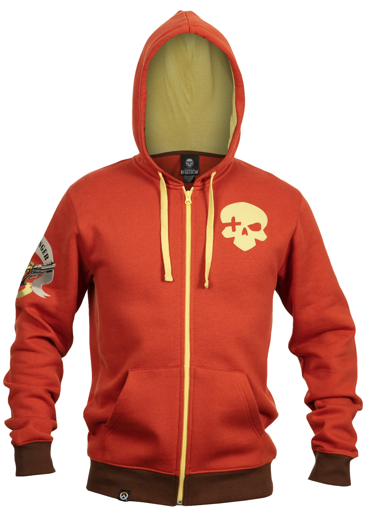 Product image of the Overwatch Ultimate McCree Zip-Up Hoodie