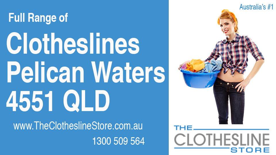 New Clotheslines in Pelican Waters Queensland 4551
