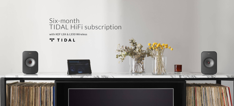 Free Six-Month TIDAL HiFi Subscription | Register Today – KEF UK