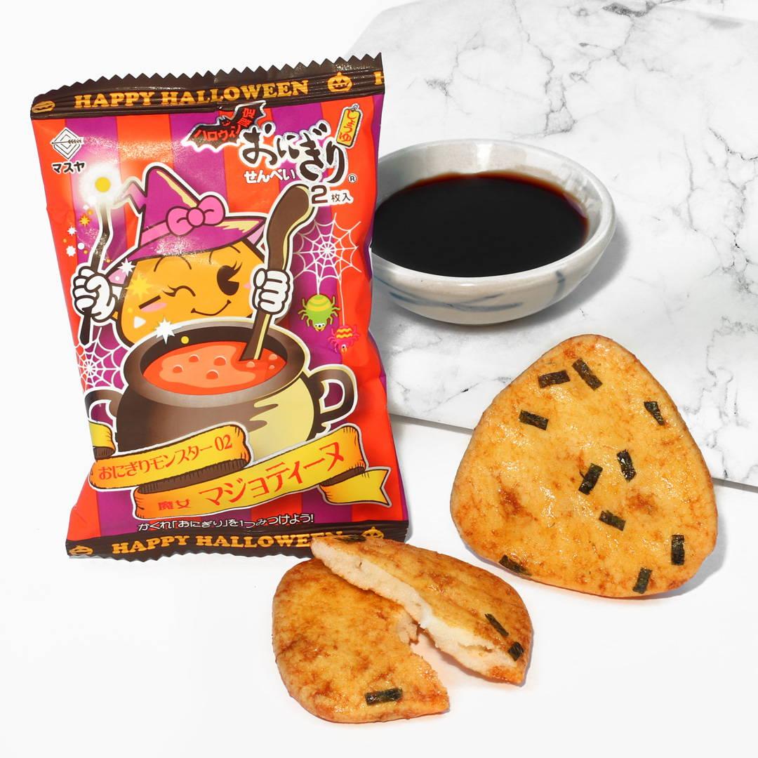 Onigiri Senbei: Halloween Soy Sauce Flavor